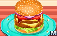 Burger For A Hungry Kid
