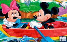Hidden Numbers Mickey Mouse