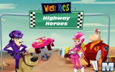 Wacky Races Highway Heroes