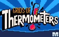 Grids Of Thermometers